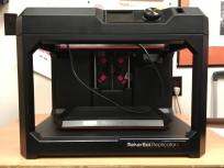 MakerBot Replicator+ 3D printer.