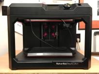 MakerBot Replicator+ 3D printer.