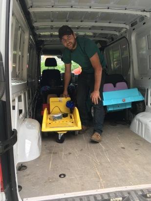 Vive Van loading 5.18