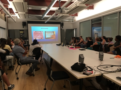 Classroom space donated by Drexel University Westphal College provided an ideal location for participants to engage in education and design. (Workshop 1)